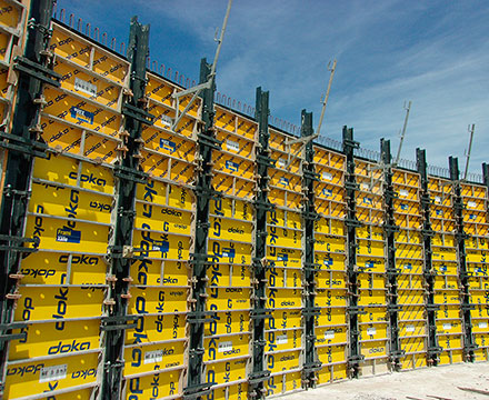 Walls Formwork-Panel Frami Xlife
