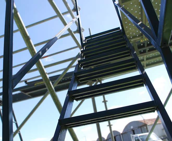 scaffolding service stairs